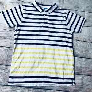New Mini Boden Boys Stripe Pocket Polo Shirt 1 2 3 4 5 6 7 8 9 10 11 12 Yrs